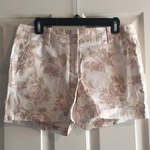 Flower (rose) print shorts